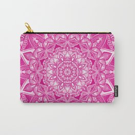 Pink Madala Pattern Carry-All Pouch