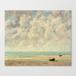 The Calm Sea - Gustave Courbet Canvas Print