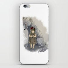 neither human nor wolf iPhone & iPod Skin