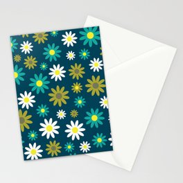 1960s Flower Power Stationery Cards