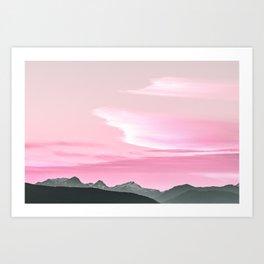 Cloud Formations Art Print