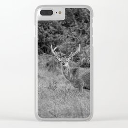 Mr Stag. Clear iPhone Case