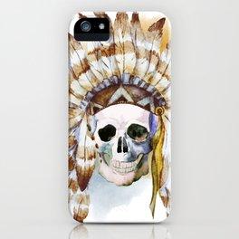 Skull 02 iPhone Case