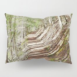 FOREST OF PARALLEL SHADOWS Pillow Sham