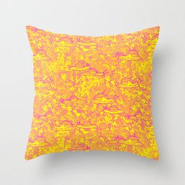 Snail Trails Throw Pillow
