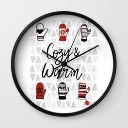 Cozy & Warm Wall Clock