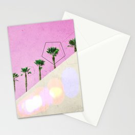 Levitated Mass (Pink) Stationery Cards