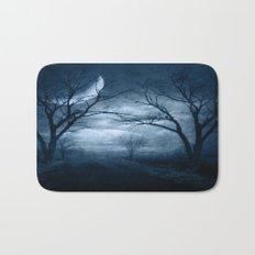 A Dark & Foggy Night Bath Mat