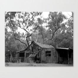 Rustic West Canvas Print