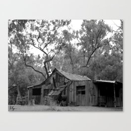 Rustic West Canvas Print