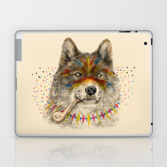 Cherokee Wolf Laptop & iPad Skin