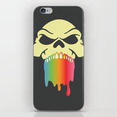 Rainbow Skull iPhone & iPod Skin