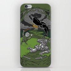 Happy Knight iPhone & iPod Skin