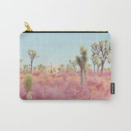 Surreal Desert - Joshua Tree Landscape Photography Carry-All Pouch