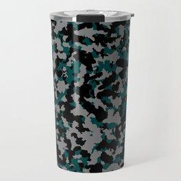 Tricolor military pattern Travel Mug