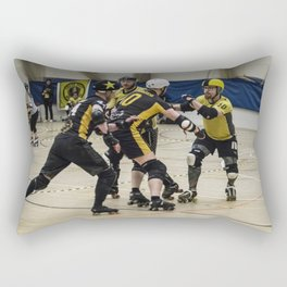 Tyne and Fear on the offense Rectangular Pillow