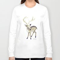 bambi Long Sleeve T-shirts featuring Bambi by Emilie Steele