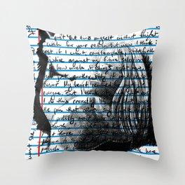 Loose Leaf Doodles: Tess Throw Pillow