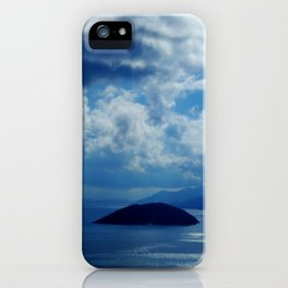 Island in the sun iPhone Case