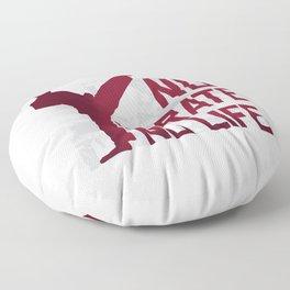 KARATE QUOTE Floor Pillow