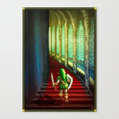 Pixel Art series 18 : Before the fight Canvas Print