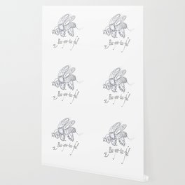 OLena Art Tee Design Bee-yoo-tee-ful Drawing Wallpaper