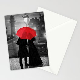 Farewell at harbor Stationery Cards
