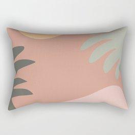 abstract jungle 1 Rectangular Pillow