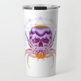 The Crab Zodiak Sign Travel Mug
