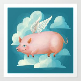 2019: Year of the Pig Art Print