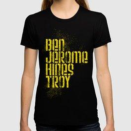 Ben Jerome Hines Troy / Black T-shirt