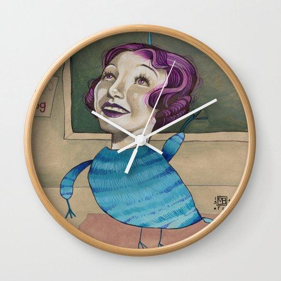 RAISE YOUR HAND Wall Clock