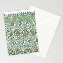 Antique Moorish Tile Pattern 5 Stationery Cards