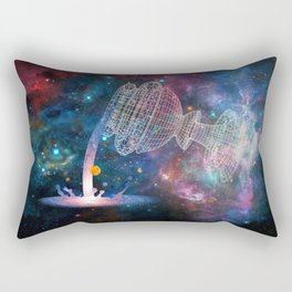 The Chalice of Space and Time Rectangular Pillow