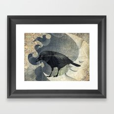 From a raven child Framed Art Print