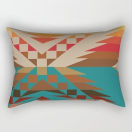 American Native Pattern No. 81 Rectangular Pillow