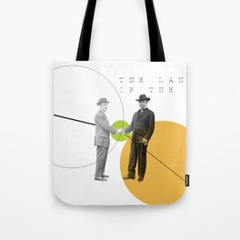 The Language of the Deal Tote Bag