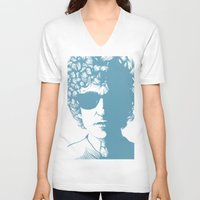 dylan V-neck T-shirts featuring Dylan by Jeroen van de Ruit