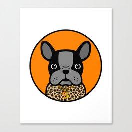 G Dog Canvas Print