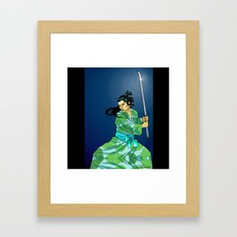 Eternal Samurai I Framed Art Print