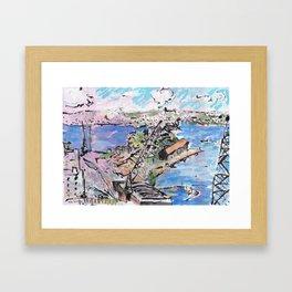 Garden Island, from Onslow Gardens Framed Art Print