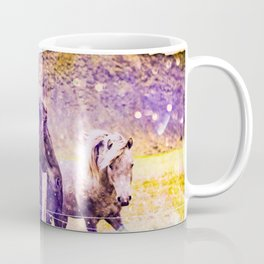 Southwest Horse Ranch Horses Coffee Mug