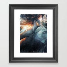 Submerge Framed Art Print