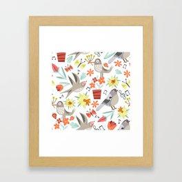 Spring Songs Framed Art Print