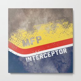 Mad Max Interceptor MFP Metal Print
