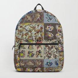 Chasoffart-Zodiac-p Backpack
