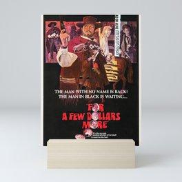 For a Few Dollars More (1967) - Vintage Film Poster Mini Art Print