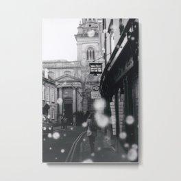 Man Things on Turl Street, Oxford Metal Print