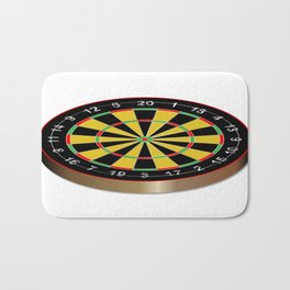 Classic Typical Darts Board Bath Mat