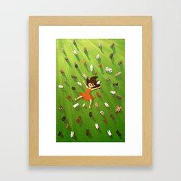 Rabbit Island Framed Art Print